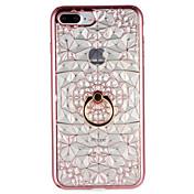 Etui Til Apple iPhone 7 Plus iPhone 7 Ringholder Bakdeksel Geometrisk mønster Myk TPU til iPhone 7 Plus iPhone 7 iPhone 6s Plus iPhone 6s