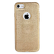 For apple iphone 7 7plus case cubierta de chapado de tapa de la caja brillo brillo de color sólido tpu suave 6s más 6 más 6 6