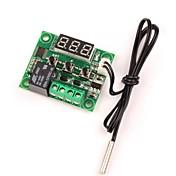 12v dc digital de refrigeración / calefacción termostato de control de temperatura -50-110 c controlador de temperatura 10a relé con