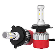 H4 Bil Elpærer 36W Integrert LED 3600lm LED Hodelykt