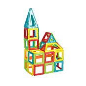 조립식 블럭 직쏘 퍼즐 마그네틱 블록 마그네틱 빌딩 세트 장난감 광장 삼각형 마그네틱 남여 공용 남자아이 조각