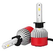 2pcs H1 Bil Elpærer 36W Integrert LED 3600lm LED Hodelykt