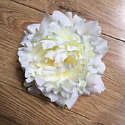 Kunstige blomster 5 Gren Pastorale Stilen Peoner Bordblomst