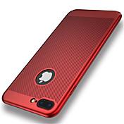 제품 iPhone 8 iPhone 8 Plus 케이스 커버 울트라 씬 뒷면 커버 케이스 한 색상 하드 PC 용 Apple iPhone 8 Plus iPhone 8 아이폰 7 플러스 아이폰 (7) iPhone 6s Plus iPhone 6 Plus