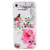 케이스 제품 Apple iPhone 7 Plus iPhone 7 패턴 엠보싱 텍스쳐 뒷면 커버 꽃장식 나무 동물 소프트 TPU 용 iPhone 7 Plus iPhone 7 iPhone 6s Plus iPhone 6s iPhone 6 Plus