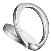 Montaje para Soporte de Teléfono Coche Escritorio Cama Cierre Magnético Soporte para Anillo Rotación 360º Soporte Ajustable Metal for