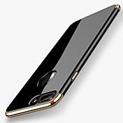 Funda Para Apple iPhone X iPhone 8 Cromado Funda Trasera Color sólido Suave TPU para iPhone X iPhone 8 Plus iPhone 8 iPhone 7 Plus iPhone