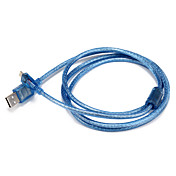 USB 2.0 Cable, USB 2.0 to Micro USB 2.0 Cable Macho - Macho 1,5 m (5 pies)