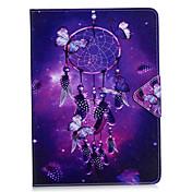 케이스 커버 ipad 프로 10.5 ipad (2017) 카드 홀더 지갑 스탠드 플립 전신 케이스 드림 포수 하드 pu 가죽 ipad 프로 9.7 air2 mini4
