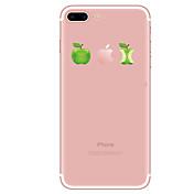 Funda Para Apple iPhone X iPhone 8 iPhone 8 Plus Transparente Diseños Funda Trasera Caricatura Suave TPU para iPhone X iPhone 8 Plus