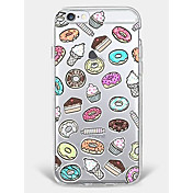 Funda Para Apple iPhone 7 Plus iPhone 7 Diseños Funda Trasera Comida Suave TPU para iPhone 7 Plus iPhone 7 iPhone 6s Plus iPhone 6s