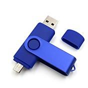 Ants 16GB minnepenn USB-disk USB 2.0 Mikro USB Plast Metall
