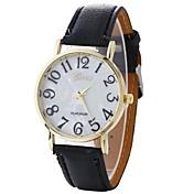 Mujer Reloj de Pulsera Chino Reloj Casual PU Banda Casual / Moda Negro / Blanco / Azul / Un año / SODA AG4