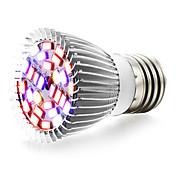 1pc 6W 800lm E27 Growing Light Bulb 28 Cuentas LED SMD 5730 Blanco Cálido UV (Luz Negra) Azul Rojo 85-265V