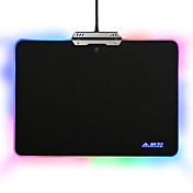 Ajazz hard mouse pad colorido 9 modos de iluminación rgb control táctil para juegos de oficina