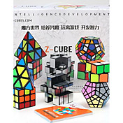Cubo de rubik z-cube Pyramid Cubo de espejo Cubo velocidad suave Cubos mágicos Antiestrés rompecabezas del cubo Rectangular Cuadrado