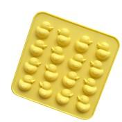 1 pedazo de moldes de pastel para molde de torta de gel de sílice de pastel de chocolate, herramienta de hornear