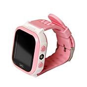 어린이 시계 방수 터치 스크린 멀티기능 핸즈프리 콜 SOS GPS 알람시계 콜 알림 블루투스 3.0 마이크로 SIM 카드