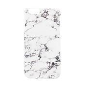 Para iPhone 7 iPhone 7 Plus Carcasa Funda Congelada En Relieve Diseños Cubierta Trasera Funda Mármol Dura Policarbonato para Apple iPhone