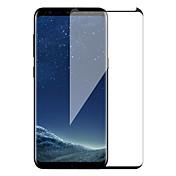 Vidrio Templado Protector de pantalla para Samsung Galaxy S8 Plus Protector de Pantalla Frontal Protector de Pantalla, Integral Alta