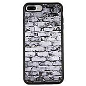 Funda Para Apple iPhone 7 Plus iPhone 7 Antigolpes Diseños Funda Trasera Diseño Geométrico Gradiente de Color Suave TPU para iPhone 7