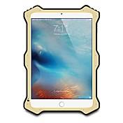 Etui Til Apple iPad Mini 4 iPad Mini 3/2/1 Vann / støv / støtsikker Heldekkende etui Helfarge Hard Metall til iPad Mini 4 iPad Mini 3/2/1