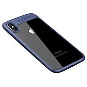Etui Til Apple iPhone X iPhone 8 Gjennomsiktig Bakdeksel Helfarge Hard Akryl til iPhone X iPhone 8 Plus iPhone 8 iPhone 7 Plus iPhone 7