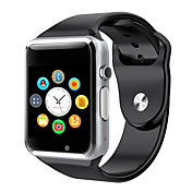 a1 reloj del reloj del deporte del reloj del bluetooth del reloj con el smartwatch de la cámara del sim para el androide smartphone