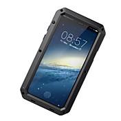 Etui Til Apple iPhone X iPhone 8 iPhone 8 Plus Vann / støv / støtsikker Heldekkende etui Rustning Hard Aluminium til iPhone X iPhone 8
