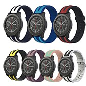 Klokkerem til Gear S3 Classic LTE Samsung Galaxy Sportsrem Silikon Håndleddsrem