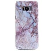Etui Til Samsung Galaxy Mønster Bakdeksel Marmor Myk TPU til S8 Plus S8 S7 edge S7 S6 edge plus S6 edge S6 S6 Active S5 Mini S5 Active S5