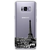 Etui Til Samsung Galaxy S8 / S7 Ultratynn / Gjennomsiktig / Mønster Bakdeksel By Utsikt Myk TPU til S8 Plus / S8 / S7 edge