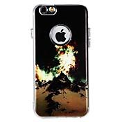 Etui Til Apple iPhone X iPhone 8 iPhone 8 Plus Støtsikker Bakdeksel Landskap Myk TPU til iPhone X iPhone 8 Plus iPhone 8 iPhone 7 Plus