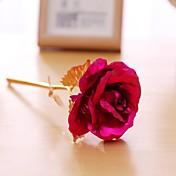 Flores Artificiales 1 Rama Estilo Pastoral Rosas Flor de Mesa
