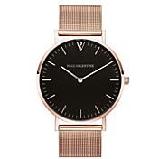 Mujer Reloj de Pulsera Chino Cronógrafo Acero Inoxidable Banda Casual / Elegante / Moda Negro / Plata / Oro Rosa