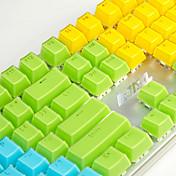 aj crystal tecla mecánica tecla clave 104 llave universal tecla de color transparente clave policromática opcional