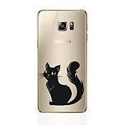 Etui Til Samsung Galaxy S8 Plus S8 Mønster Bakdeksel Katt Myk TPU til S8 Plus S8 S7 edge S7 S6 edge plus S6 edge S6