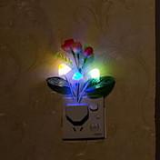 1 pieza Enchufe de pared Recargable Fácil de Transportar Tamaño Pequeño Tamaño Compacto LED