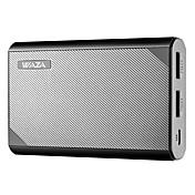waza 10000mah usb power bank, minste og lette 10000mah eksternt batteri, ultrakompakt, høyhastighets lading for iphone, Samsung Galaxy og mer