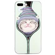 Funda Para Apple iPhone X iPhone 8 iPhone 8 Plus iPhone 7 iPhone 7 Plus iPhone 6 iPhone 6 Plus En Relieve Diseños Cubierta Trasera Animal