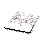 Funda Para Apple iPad Air 2 / iPad mini 4 Cartera / Soporte de Coche / con Soporte Funda de Cuerpo Entero Vista de la ciudad Dura Cuero de PU para iPad Air / iPad 4/3/2 / iPad Mini 3/2/1