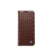 Funda Para Samsung Galaxy S8 S7 edge Soporte de Coche Cartera con Soporte Funda Trasera Color sólido Dura piel genuina para S8 Plus S8 S7