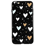 Funda Para Apple iPhone 8 iPhone 8 Plus iPhone 6 iPhone 6 Plus iPhone 7 Plus iPhone 7 Diseños En Relieve Funda Trasera Corazón Caricatura