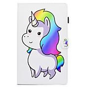 Funda Para Samsung Galaxy Tab Un 8,0 Tab S2 9.7 Tab S2 9.7 Tab A 10.1 (2016) Soporte de Coche con Soporte Flip Diseños Funda de Cuerpo