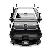 Funda Para Apple iPhone X iPhone 8 Plus Agua / Polvo / prueba del choque Funda de Cuerpo Entero Armadura Dura Metal para iPhone X iPhone