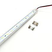 1m Tiras LED Rígidas 72 LED Blanco Cálido / Blanco Fresco Cortable 12 V