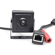 hqcam® 960p onvif 1/3 tommers cmos 1.3mp 25fps sikkerhet mini ip kamera cctv 3.7mm objektiv overvåking ip kamera