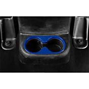 Automotor Cubiertas de Panal del sostenedor de la taza (parte posterior) Interiores personalizados para coche Para Jeep 2017 2016 2015
