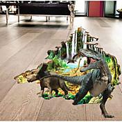 Animales 3D Pegatinas de pared Calcomanías 3D para Pared Calcomanías Decorativas de Pared, Papel Decoración hogareña Vinilos decorativos