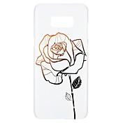 Etui Til Samsung Galaxy S8 S7 Rhinstein Mønster Inngravert Bakdeksel Blomsternål i krystall Hard PC til S8 Plus S8 S7 edge S7 S6 edge